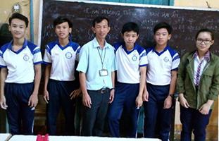Thầy giáo nuôi dưỡng ước mơ học trò ở Cù Lao Dung
