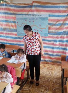 Cô Hoàng Thị Hương