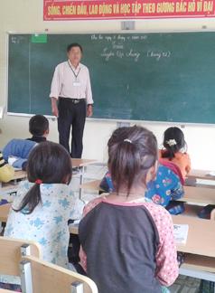 Thầy Lò Văn Xuân