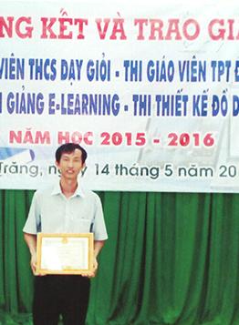 Thầy giáo Lâm Văn Cam