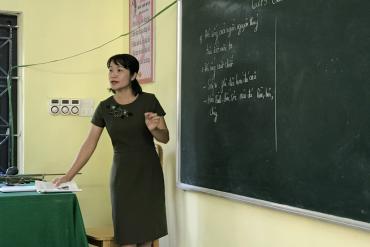Bài 2: Hạnh phúc của cô giáo Mường trở lại trường cũ giảng dạy